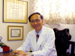 Dr. Thomas G. Lee Photo in Consultation Room